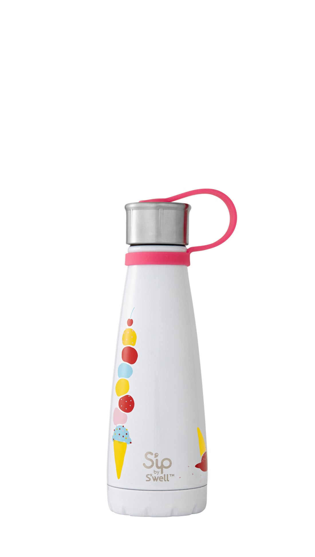 New Sip By Swell Insulated Stainless Steel Water Bottle 15 Oz,Cold /& Hot Drinks
