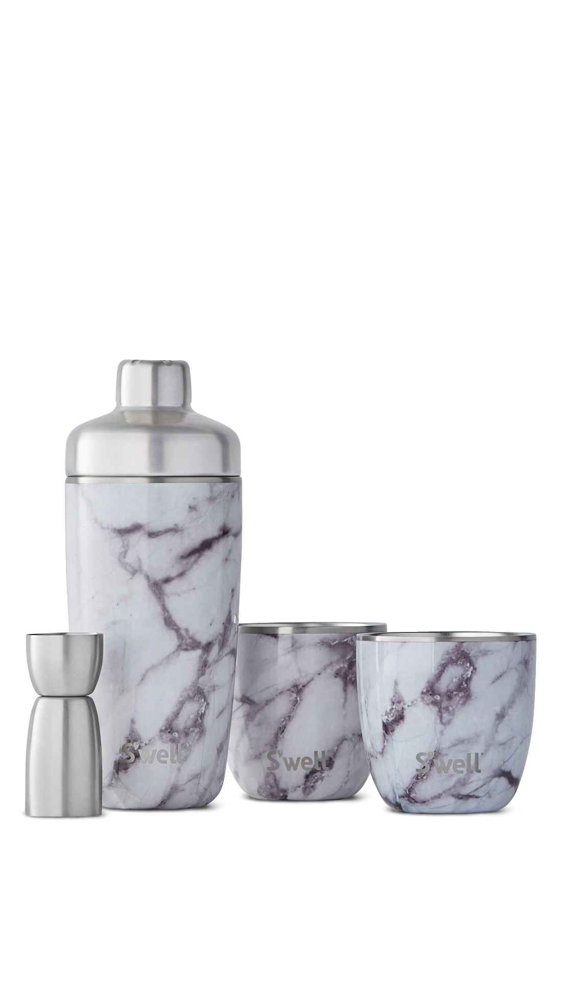 White Marble Cocktail Kit S Well 174 Bottle Official