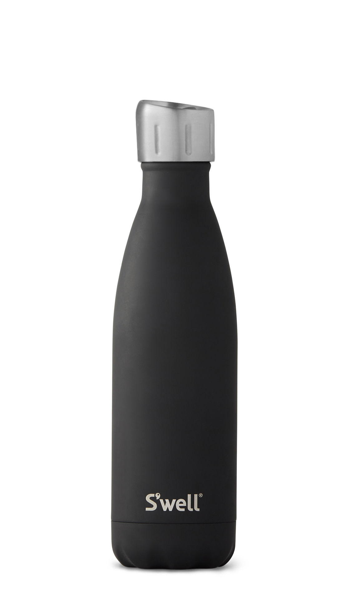 Black Insulated Stainless Steel Water Bottle S Well