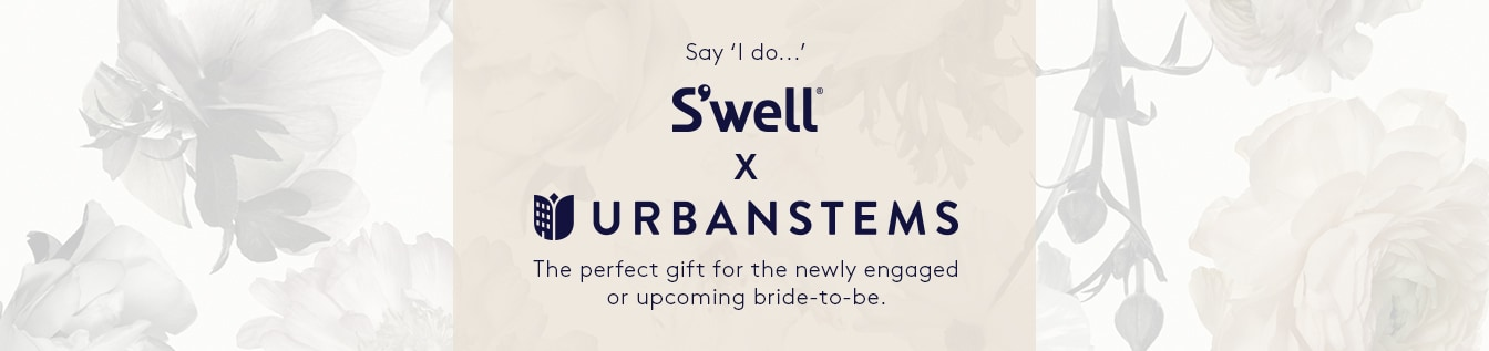 Swell x Urbanstems: Everlasting water bottle