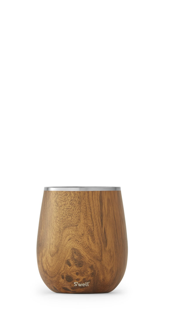 Teakwood Wine Tumbler
