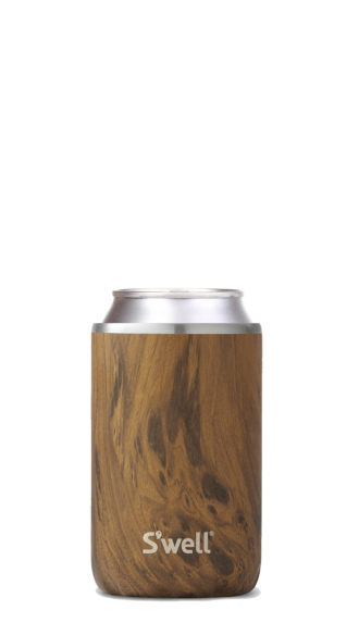 Slim Teakwood Drink Chiller