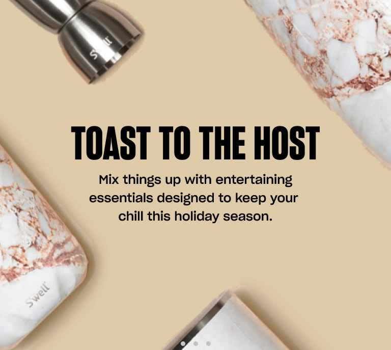 S'well Home Banner 2: Toast to the Host