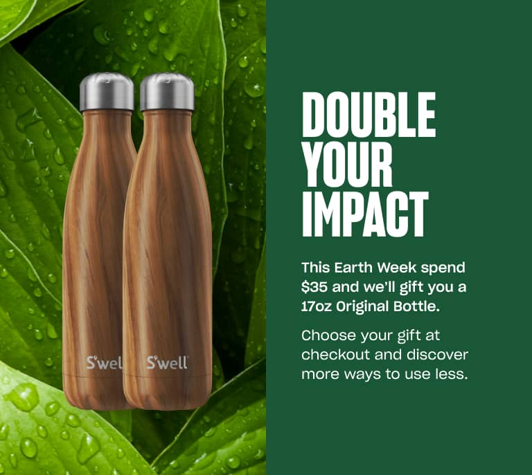 S'well DOUBLE YOUR IMPACT